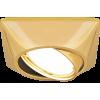 Светильник точечный Gauss Metal Exclusive CA073 Круглый Золото