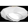 Светильник точечный Gauss Metal Exclusive CA076 Круглый Белый перламутр