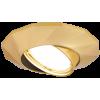 Светильник точечный Gauss Metal Exclusive CA077 Круглый Золото