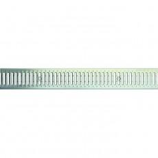 Решетка штампованная оцинкованная РШО Norma DN100 A15
