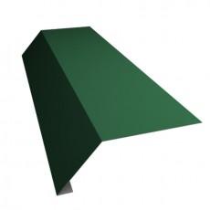 """Планка карнизная """"SHINGLAS"""" РЕ 95х50х15х2000мм Зелёный"""