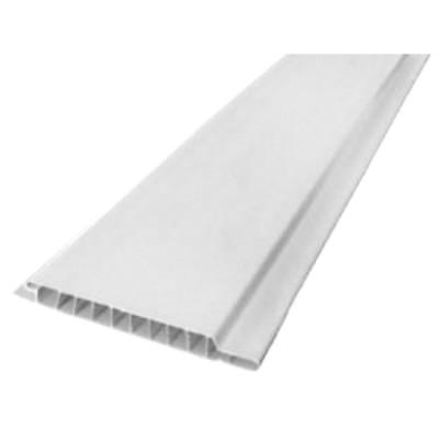 Вагонка белая ПВХ толщина 10 мм, длина 3 м