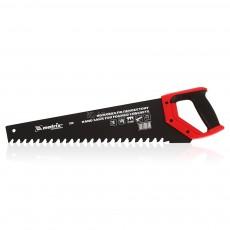 Ножовка по пенобетону,500 мм, защитное покрытие,твердосплавные напайки на зубьях, 2-х комп.рукоятка 23380