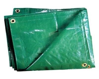 Тенты из п/э ткани зеленый ТЗ-120 3м*4м