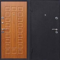 Дверь металлическая ЙОШКАР Золотистый дуб 960х2050 левая