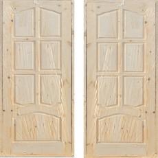 Дверной блок филенчатый ДФГ-600 арочный