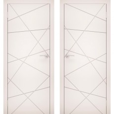 Дверное полотно Эмаль 13 белый ПГ-600