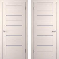 Дверное полотно экошпон Анкона 4 Кремовая лиственница ПО-700
