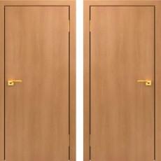 Дверное полотно глухое С-01 Миланский орех ПГ-600