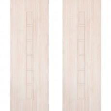 Дверное полотно С-12 дуб беленый ПГ-600 (Лесенка)