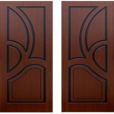 Дверь шпонированная Велес шоколад ПГ-600