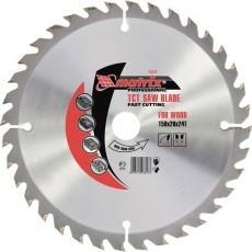 Пильный диск по дереву, 210 х 32мм, 24 зуба + кольцо 30/32// MATRIX  Professional  73224