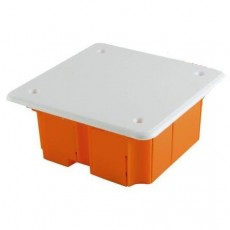 Распаячная коробка СП 92х92х40мм, крышка, IP20 TDM SQ1402-1001