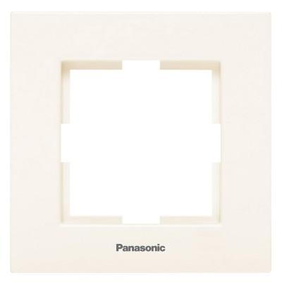 Рамка 1-постовая крем WKTF08012BG-BY Panasonic