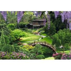 Декоративное панно Китайский парк 294х201  (9 листов)