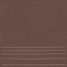 Клинкерная плитка  Амстердам-4 коричневый ступени 29,8 Х 29,8
