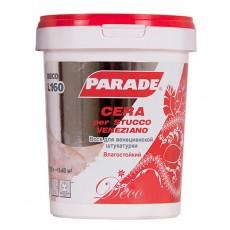 Воск для венецианской штукатурки Parad Deco L160 Cera per Stucco 0,9л