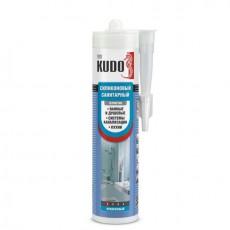 Герметик KUDO санитарный прозрачный 280мл