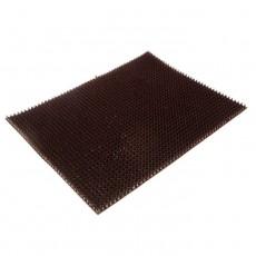 Коврик напольный из щетинистого покрытия 45*60 темный шоколад