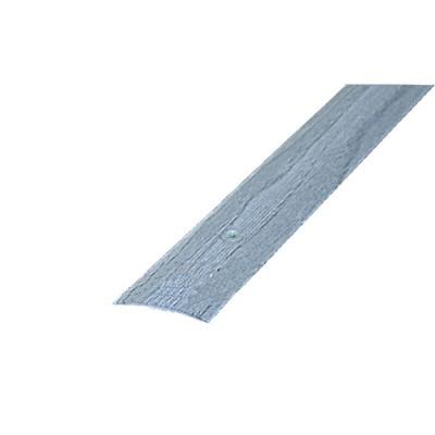 Порог АЛ-163 стык/упак/дуб серый 0,9 м