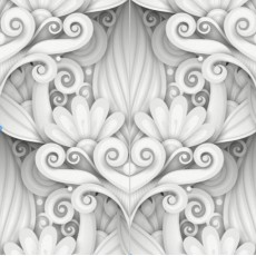 Декоративное панно Инсталляция DECOCODE 22-0029-НН (200х200 см)