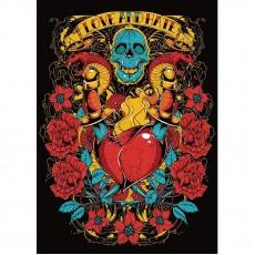 Декоративное панно Романтик рок DECOCODE 21-0412-АR (200х280 см)