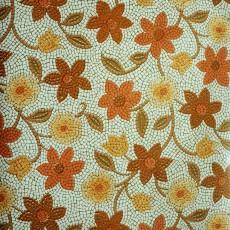 Пленка самоклеящаяся HONGDA 8593 Цветы из мозаики 0,45х8м
