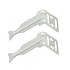 Комплект кронштейнов угловых Royal Thermo (белый)