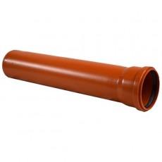 Труба НПВХ D 110х3,2 SN4 длина 3м