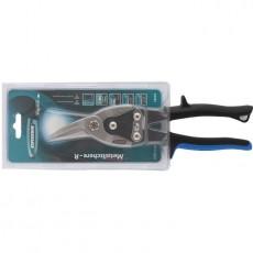 """Ножницы по металлу """"PIRANHA"""" 250мм,прямой и правый рез, сталь-CrMo,двухкомпонентная рукоятка 78323"""