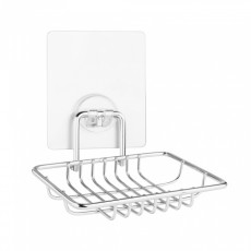"""Мыльница-решетка для ванной настенная на силиконовом креплении """"Kleber lite"""" KLE-LT034"""