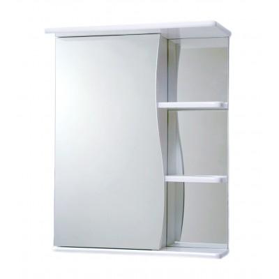 "Зеркало ""Волна 500"" правое белое"