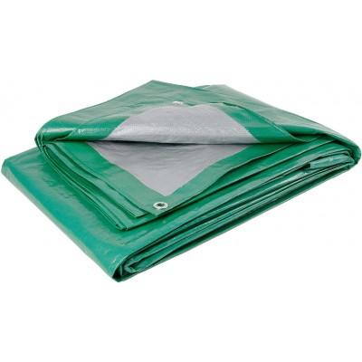 Тент из полиэтиленовой ткани зеленый ТЗ-120 3м*6м