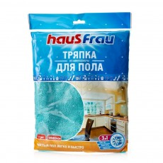 Тряпка для пола HausFrau, микрофибра, 50х60 см