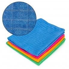 Тряпка для пола из микрофибры в клетку VETTA, 50х70 см, 4 цвета