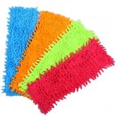VETTA Насадка -салфетка для швабры из микрофибры, 30х40см, 4 цвета, 3708
