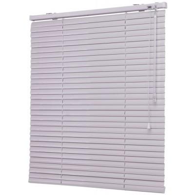 120x160 см Жалюзи горизонтальные алюминиевые белые