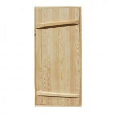 Дверной блок банный массив ДБ-1800х800 ( хвоя )